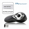 Wireless Handheld USB Mouse Laser Pointer for PC XC-RM19