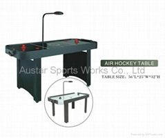 air hockey table electronic counter or coin machine