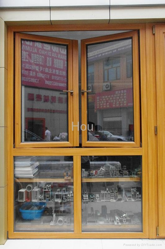 Wood Clad Windows : Aluminum clad wood windows hs houwindows china