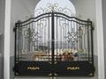 good design upscale wrought iron gate 1