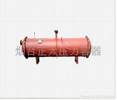 Horizontal evaporator