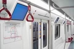 地铁广告机