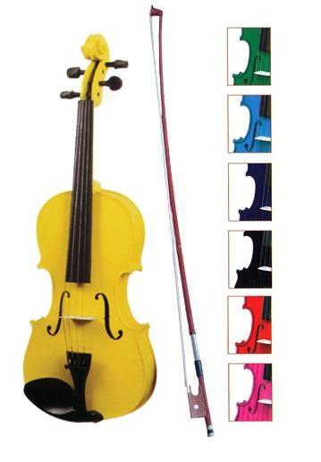 Colorful Violin 1