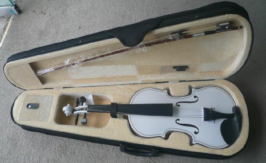 Colorful Violin 3