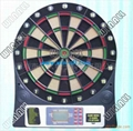 Electronic dartboard with big LCD