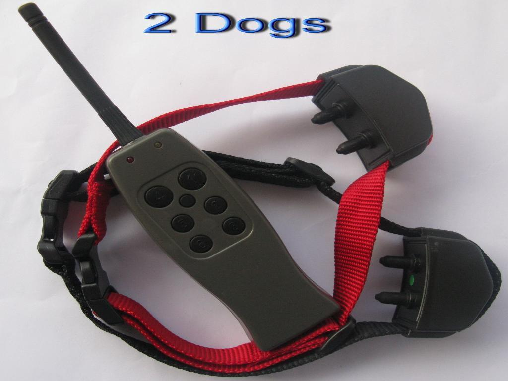 E327 SMALL/MEDIUM/BIG STUBBORN DOG REMOTE TRAINING COLLAR for 2 Dogs