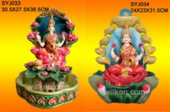Polyresin Hindu God Statues & Fountains