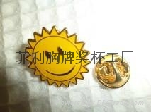 深圳專業定做胸牌胸針獎杯生產廠家