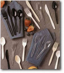 Disposable cutlery (spoon.knife...)