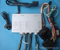 AUDI MMI interface AUDI A6/A8/Q7