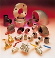PIPE FITTINGS; FLANGES; VALVES