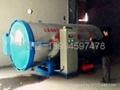 加湿定型蒸纱机
