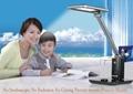 modern usb led table light with alarm clock no stroboscopic 2