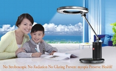 2012 new style study led table lamp with touch key support MP3