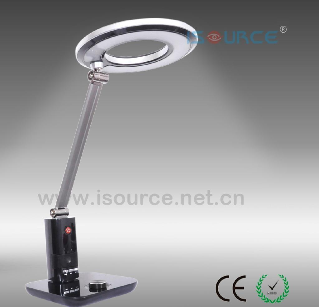 Unique design office led desk lamp suppot MP3 - D71 - Isource ...