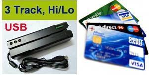 Swipe magnetic stripe card reader and writer    1