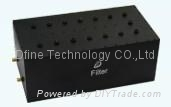 Cavity Notch Filter with Power Handling of 10W