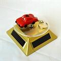 factory & manufacturer car shape solar flashlight keychain 2