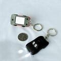 factory & manufacturer car shape solar flashlight keychain 3