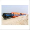 HDPE floating pipe with flange at both end  1
