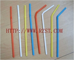 Colour Flexible Straw