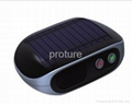 Solar full automatic car air purifier
