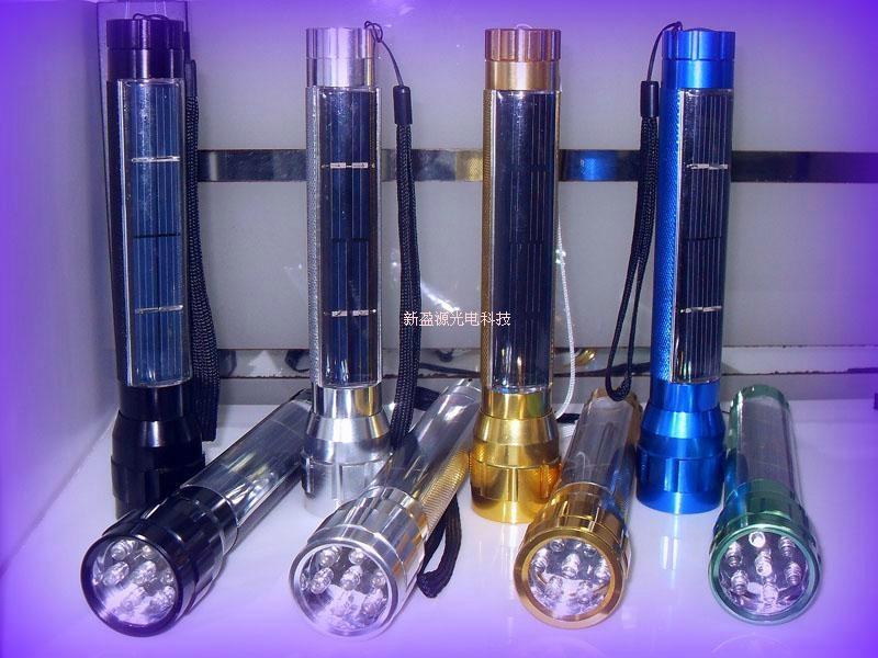 太陽能手電筒 3