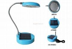太陽能學生書桌環保臺燈