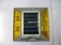 太陽能LED交通爆閃警示信號燈 3