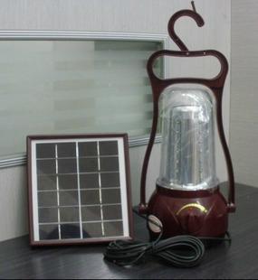 太陽能全新手提LED家庭照明馬燈 1