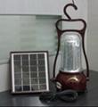 太陽能全新手提LED家庭照明馬