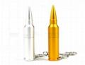 Hot sale 16GB metal bullet usb flash memory  3
