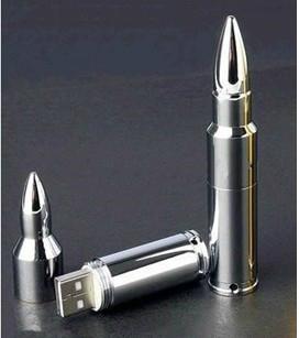 Hot sale 16GB metal bullet usb flash memory  4