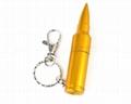 Hot sale 16GB metal bullet usb flash memory  5