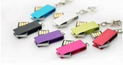 Mini! rotation USB 2.0 Memory Stick Flash pen Drive