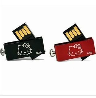 Mini! rotation USB 2.0 Memory Stick Flash pen Drive  3
