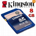 New Kingston Genuine 8GB 8G Class6 micro SD SDHC microSDHC Memory Flash Card 4