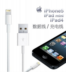 Factory OEM for iphone5 data line for iPad4 iPod touch 7th