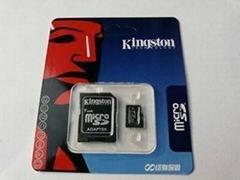Kingston 8GB MicroSD Memory Card + Adapter