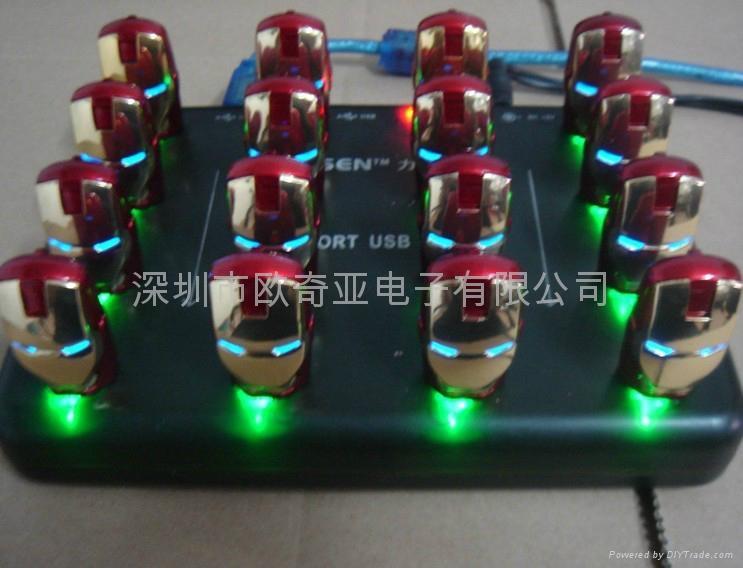 Top Selling Iron Man & Avenger  Iron Man 3 USB flash 3