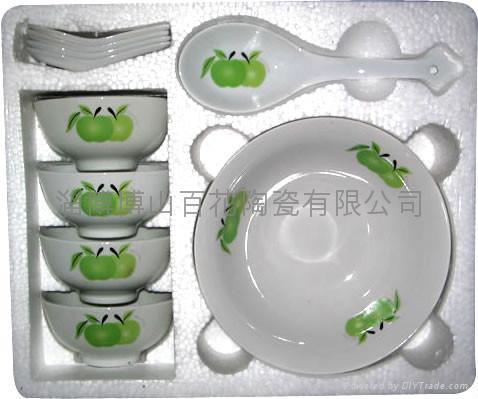 10头陶瓷促销餐具 2