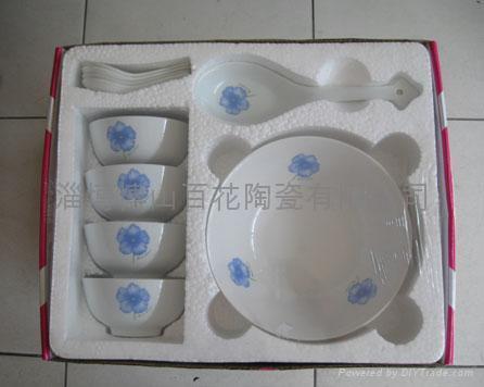 10头陶瓷促销餐具 1