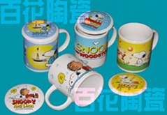 snoopy陶瓷杯(4款)