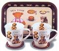 卡通促銷陶瓷套杯(2件)