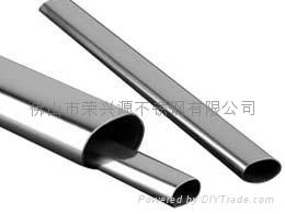 不锈钢平椭圆管 2