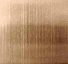 佛山彩色古銅拉絲不鏽鋼板