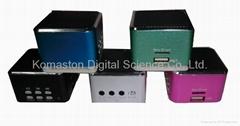 迷你運動音響,電腦音響,MP3 音響,USB 插卡音響MS-25