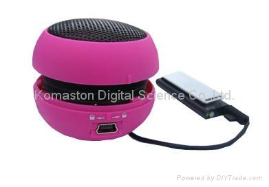 迷你漢堡音響,MP3 音響,電腦音響,便攜式音響MS-35 2