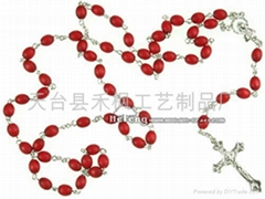 Rosary necklace,catholic rosary,religious