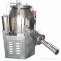 Powder material mixer